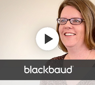Client testimonial for ProductStack   Blackbaud